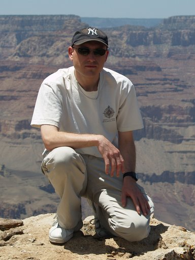Me, at the Grand Canyon